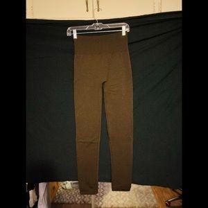 Pants - 🌟5/$30 - NWOT Brown Fleece Leggings